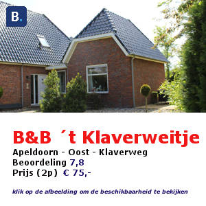 bed and breakfast het klaverweitje