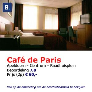 bed and breakfast apeldoorn et cafe de paris